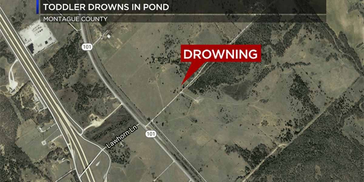 Toddler drowns in pond in Montague Co.