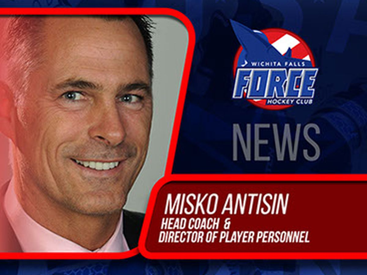 UPDATE: Wichita Falls Force announces new Head Coach in wake of Misko Antisin resignation
