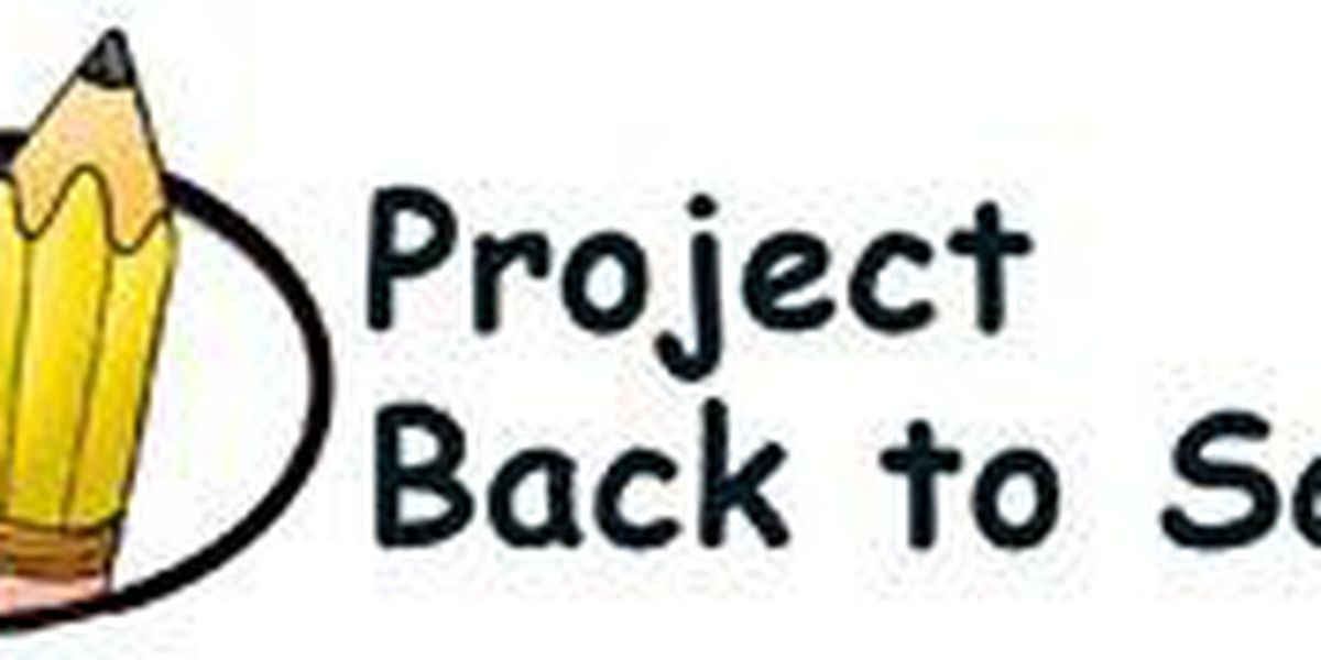Project Back to School is set for mid August