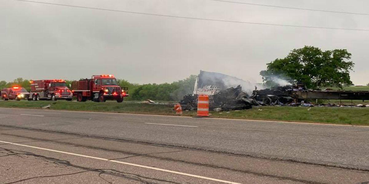 UPDATE: Victims identified in semi crash on U.S. 287