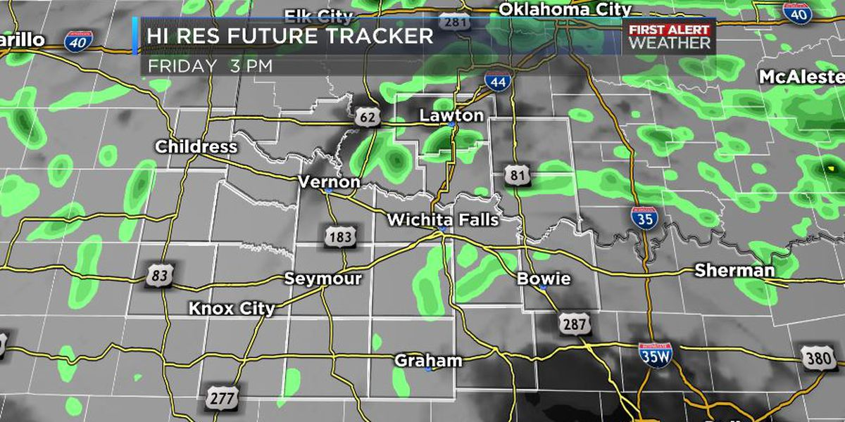 Rain chances early this afternoon