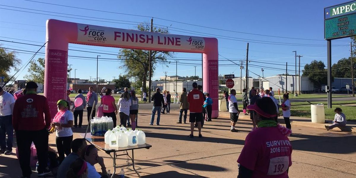 Race for the Cure: Hundreds walked in hope of finding a cure