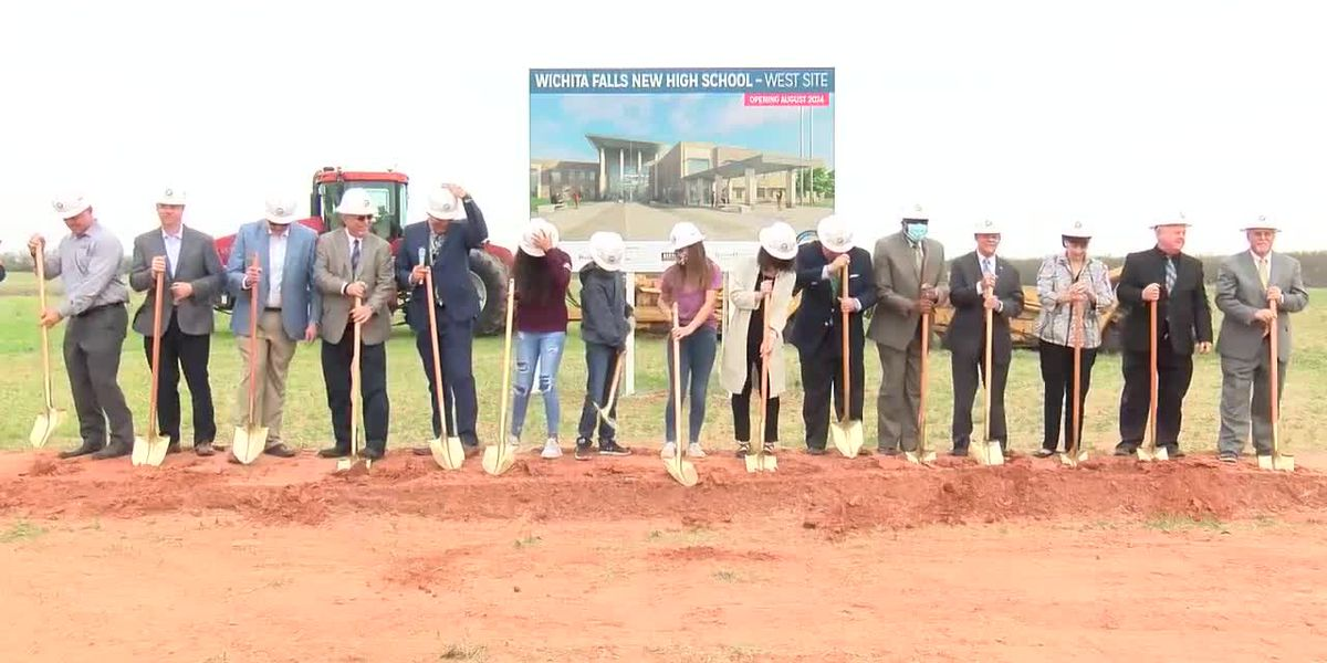 WFISD breaks ground on new high schools