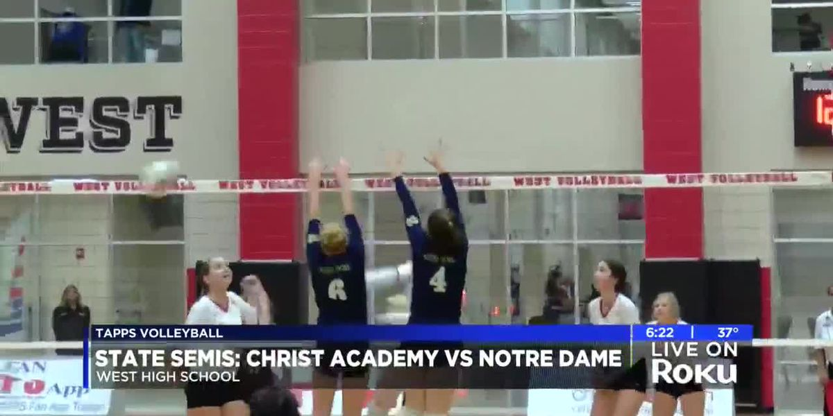 Notre Dame advances over Christ Academy on coach Lisa Macha's birthday