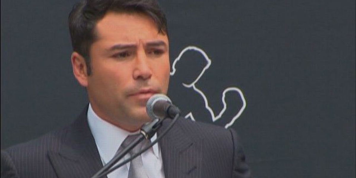Oscar De La Hoya says he's going to run for president