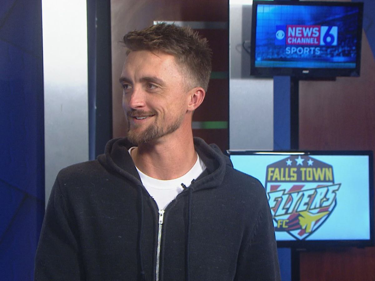 In-studio interview w/ Falls Town Flyers head coach Brandon Swartzendruber