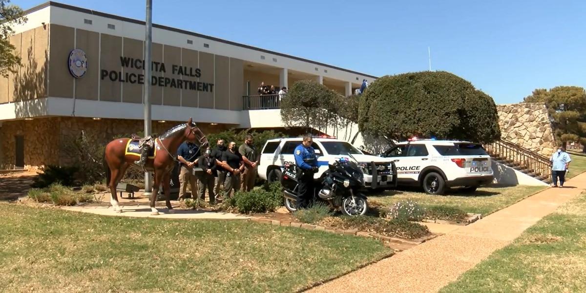 WFPD honors fallen Texas DPS trooper
