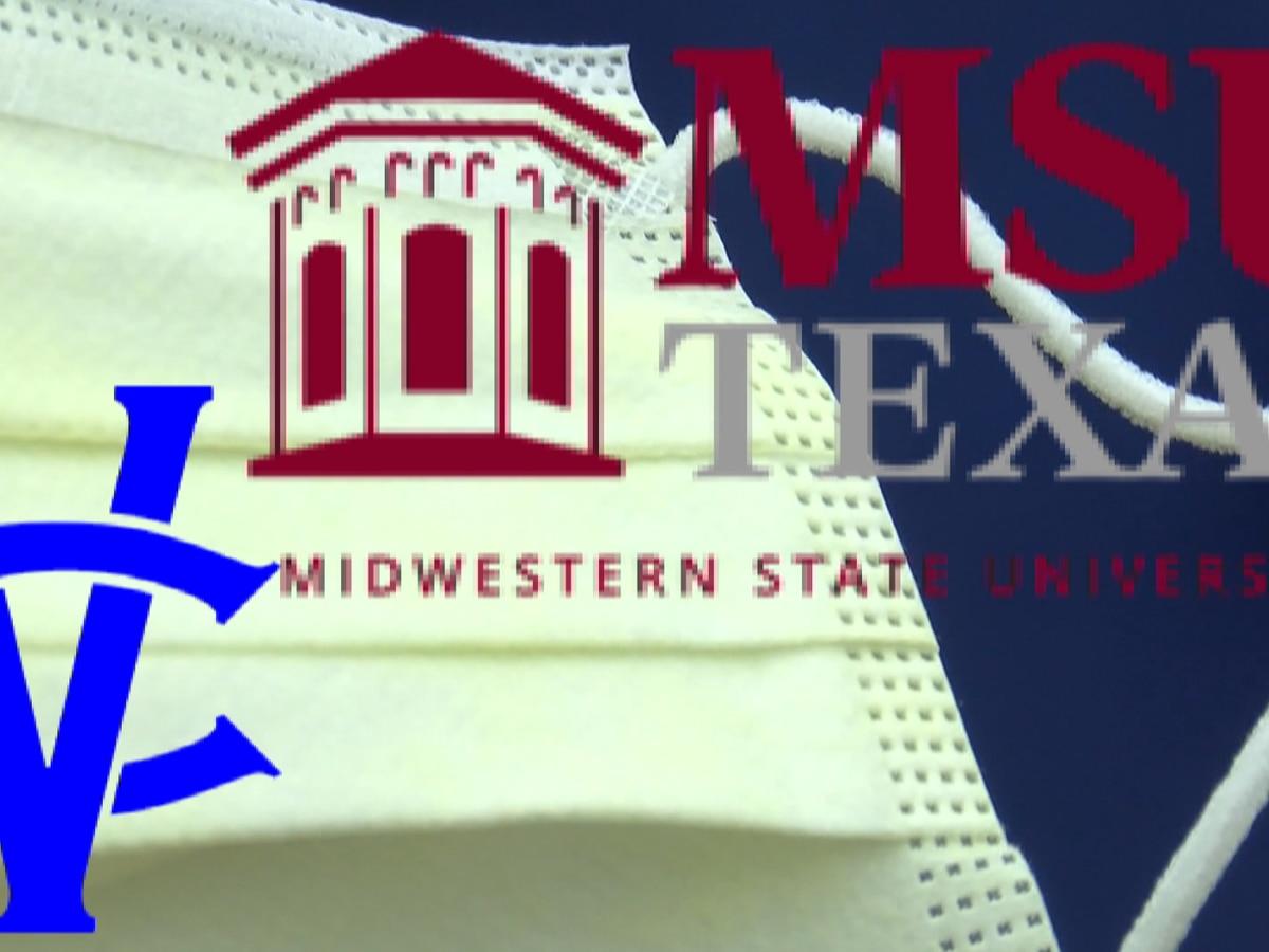 MSU Texas, Vernon College requiring face masks on campus