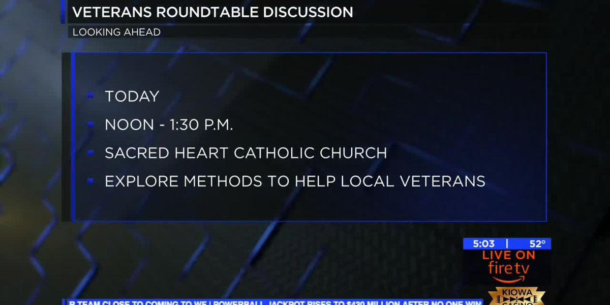 Catholic Charities to host Veteran Roundtable Discussion today
