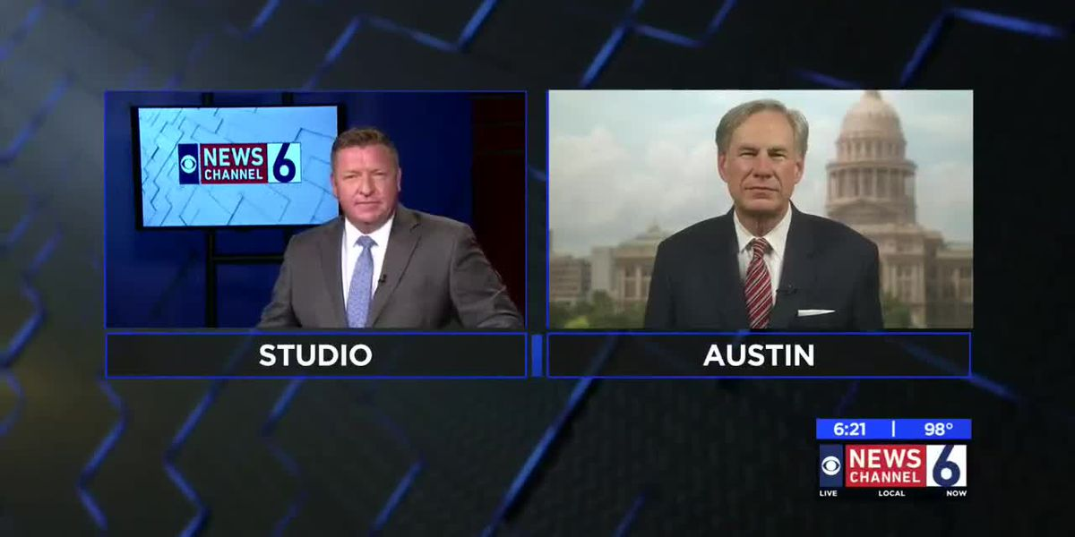Gov. Abbott talks COVID-19 tests, reopening schools, bars