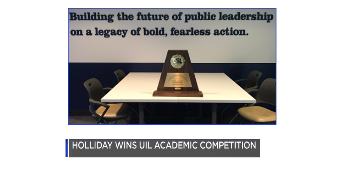 Holliday ISD wins UIL Academic Competition