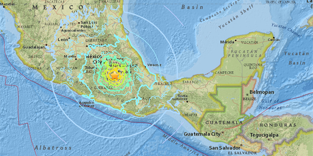 UPDATED: Social media posts show massive damage after 7.1 quake in Mexico