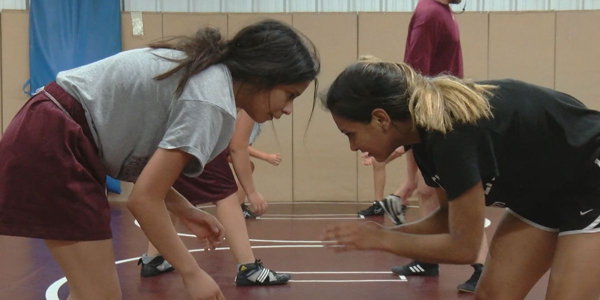 Vernon girls wrestling challenging the status quo
