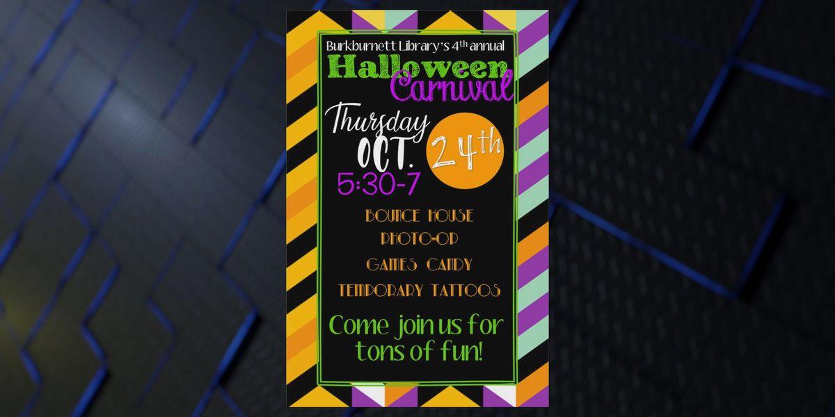 4th Annual Burkburnett Library Halloween Carnival