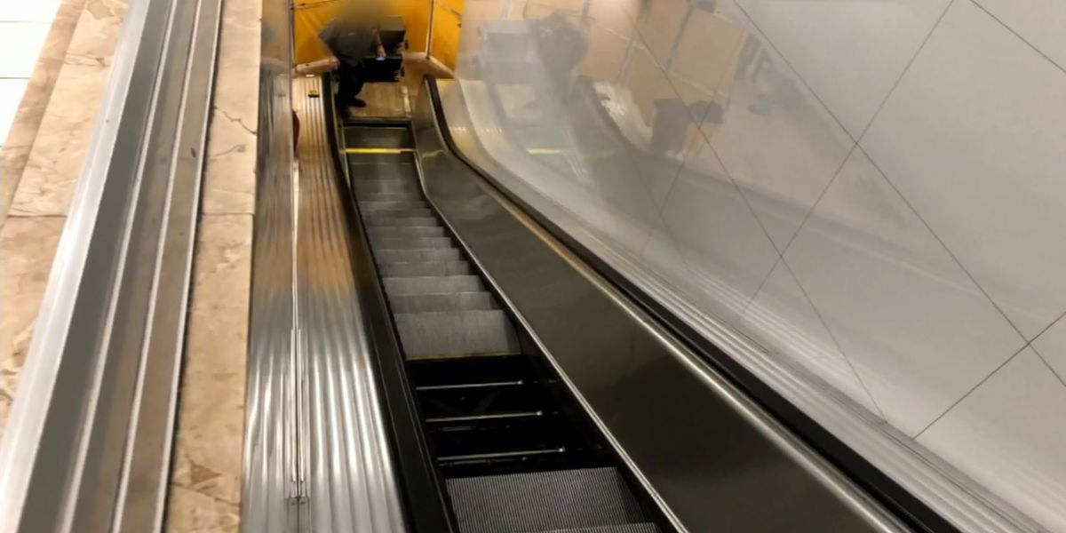 Boy hospitalized after foot becomes trapped in Macy's escalator