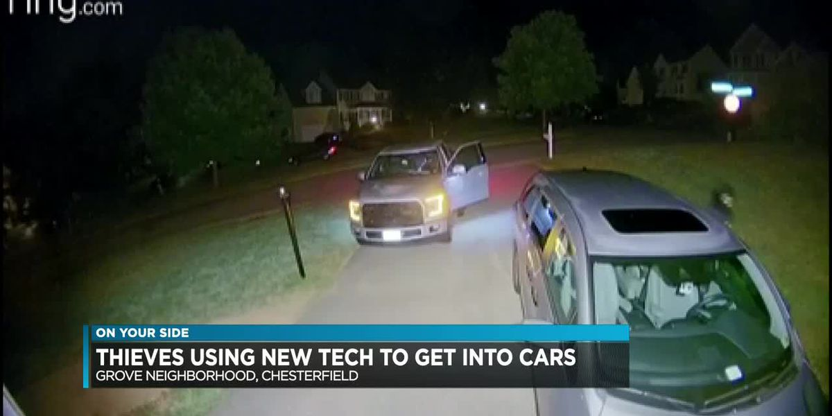 Residents believe thieves using new technology to break into vehicles