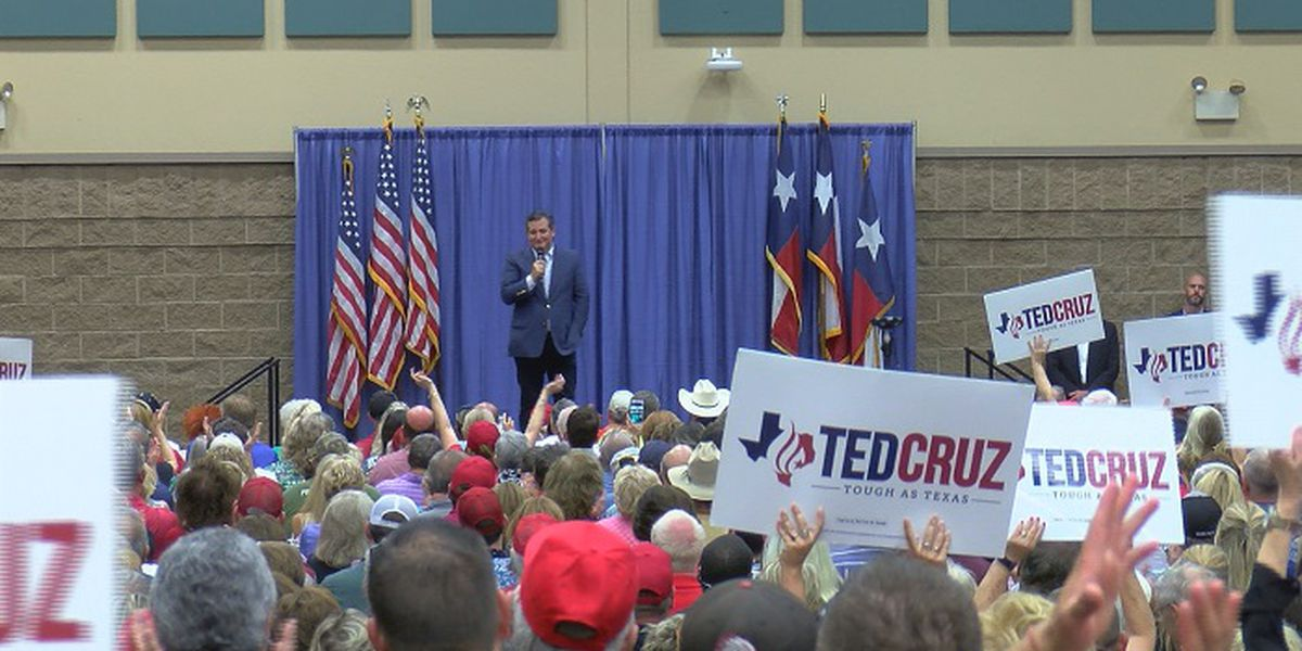 Hundreds of Texomans gather for Ted Cruz, Donald Trump Jr. rally