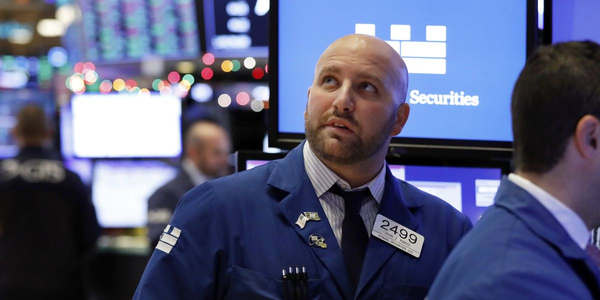 Markets Right Now: US stocks waver in midday trading