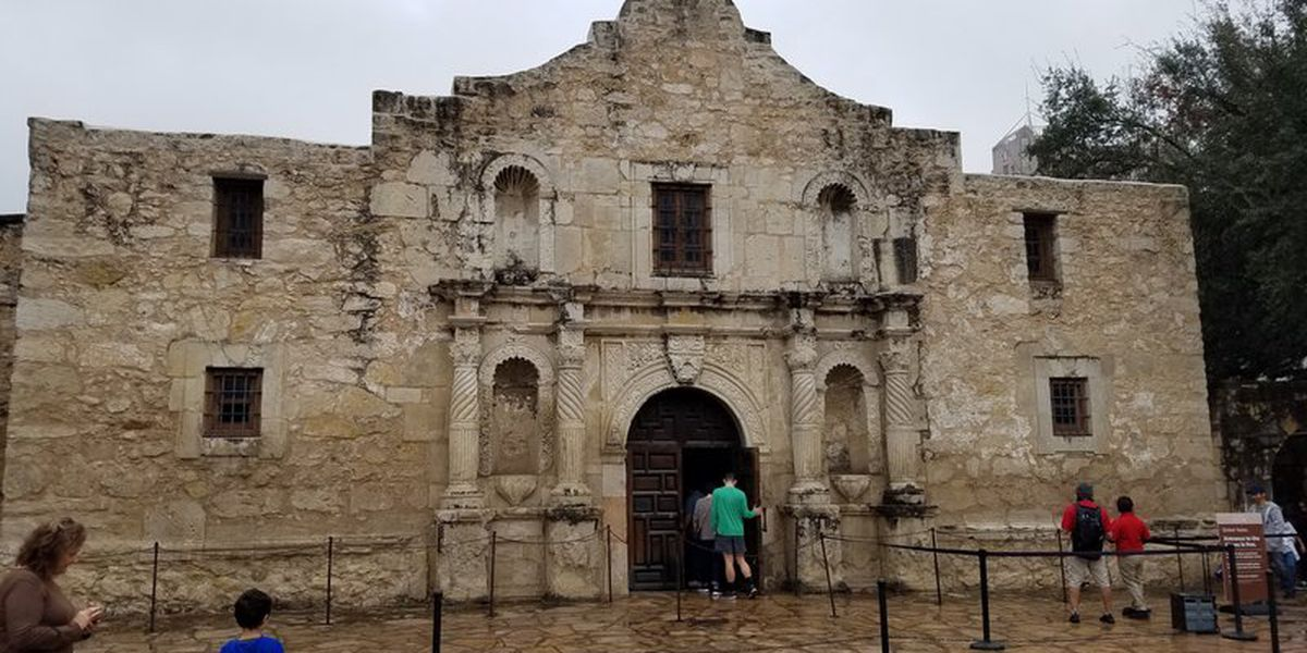 Remains of 3 people found during renovations at the Alamo