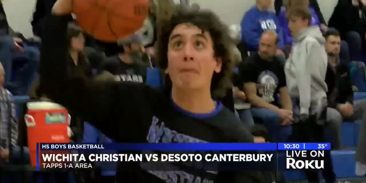 BOYS: Wichita Christian vs Desoto Canterbury highlights