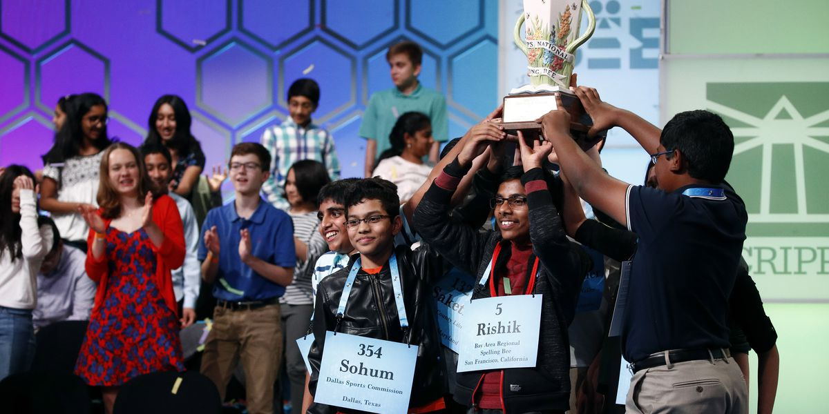Top spellers prepare to crown national champion, from home