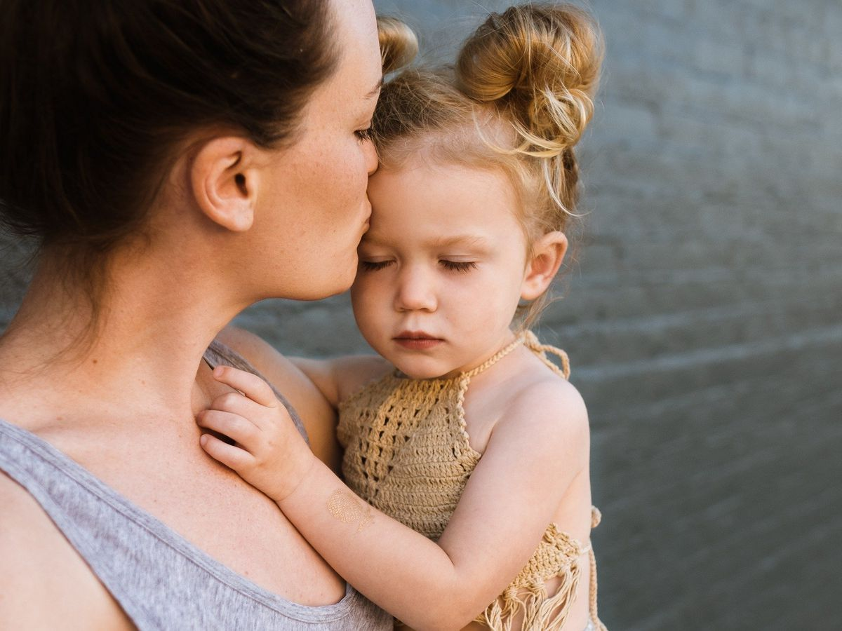 How can a hug help your child?