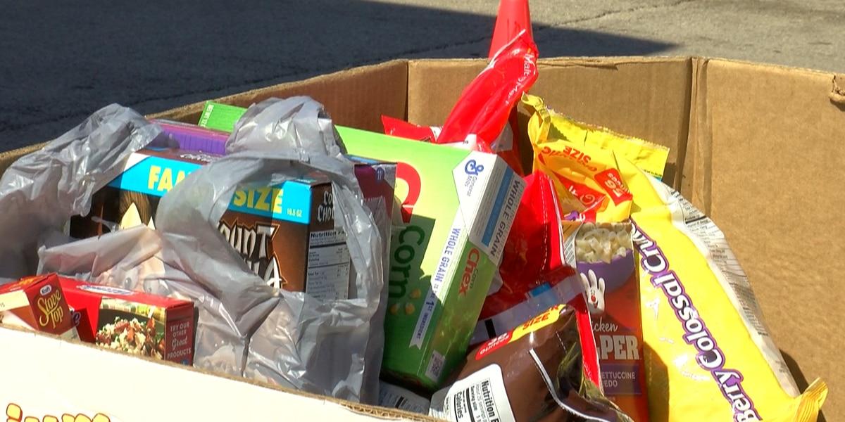 Wichita Falls Area Food Bank needing to restock shelves