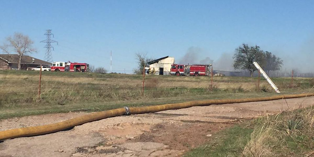 Building Declared Total Loss After Fire In Wichita Falls