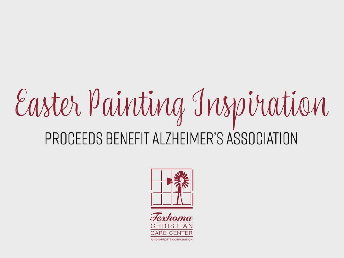 Texhoma Christian Care Center hosting paint party for the Alzheimer's Association