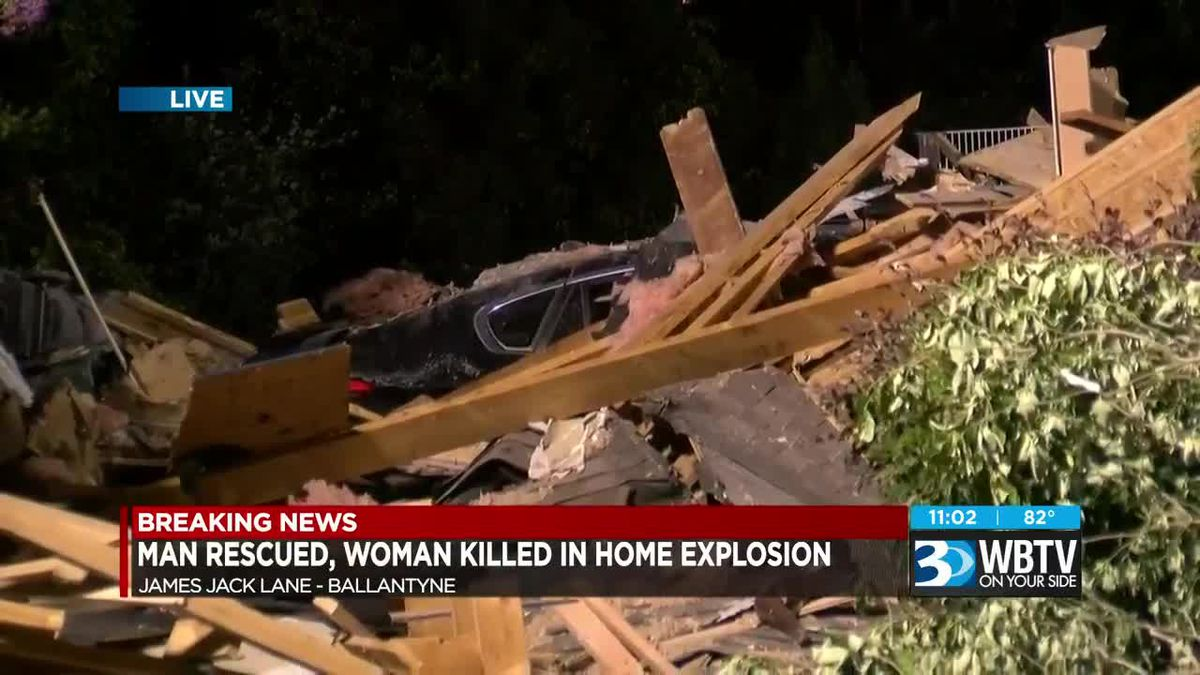 Woman found dead, man seriously injured after explosion destroys home