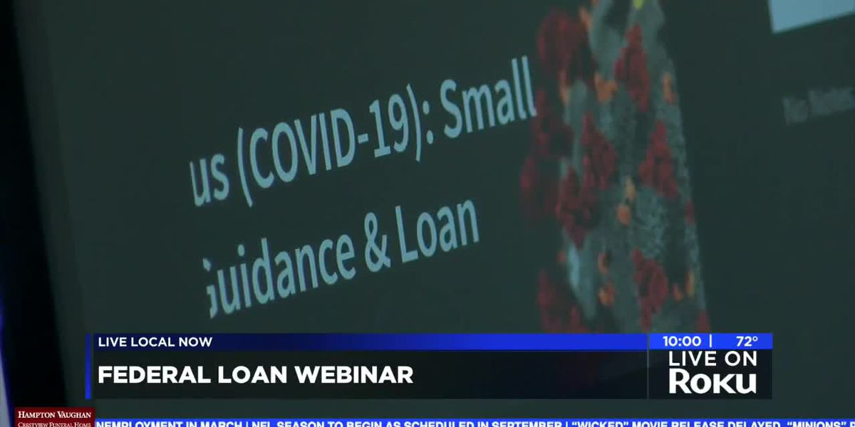 Business owners learn about federal relief loans