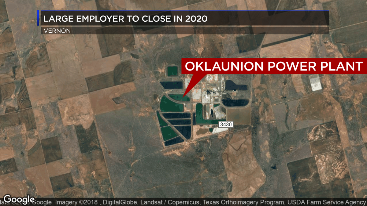 Gas Prices In Oklahoma >> Oklaunion Power Station to close in mid-2020