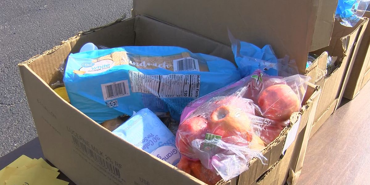 Food giveaway helps people still struggling from winter storm