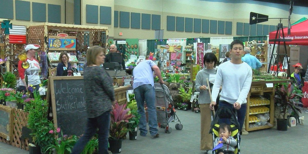 Local businesses thrive at home and garden show