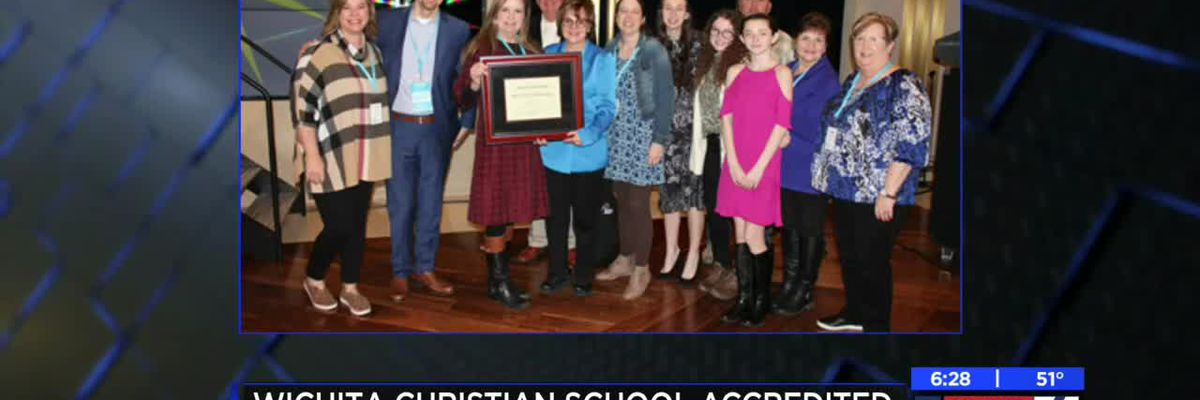 Wichita Christian School fully accredited by NCSA