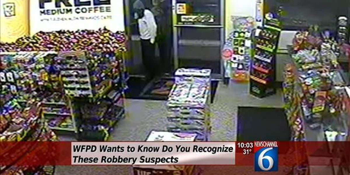 WFPD Looking For Robbery Suspects