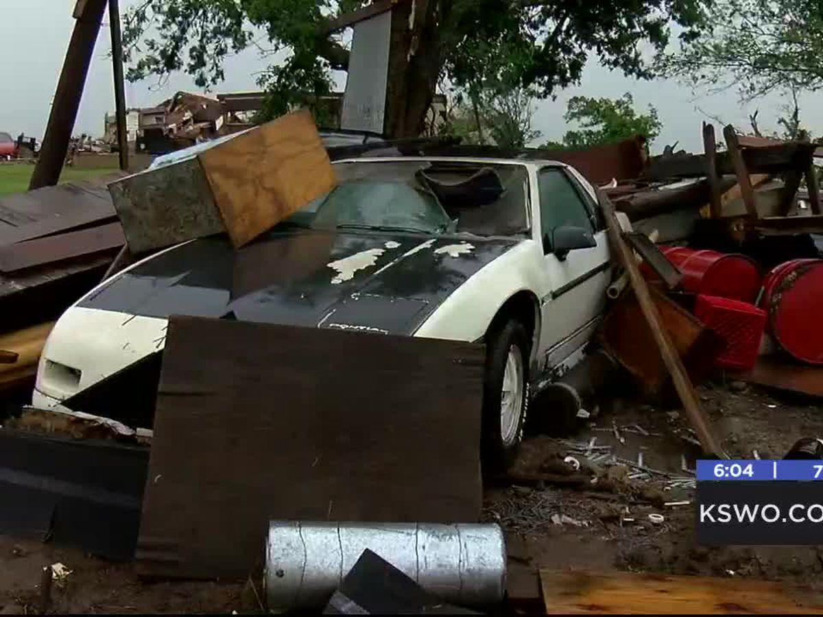 Responders and victim speak about Saturday tornado