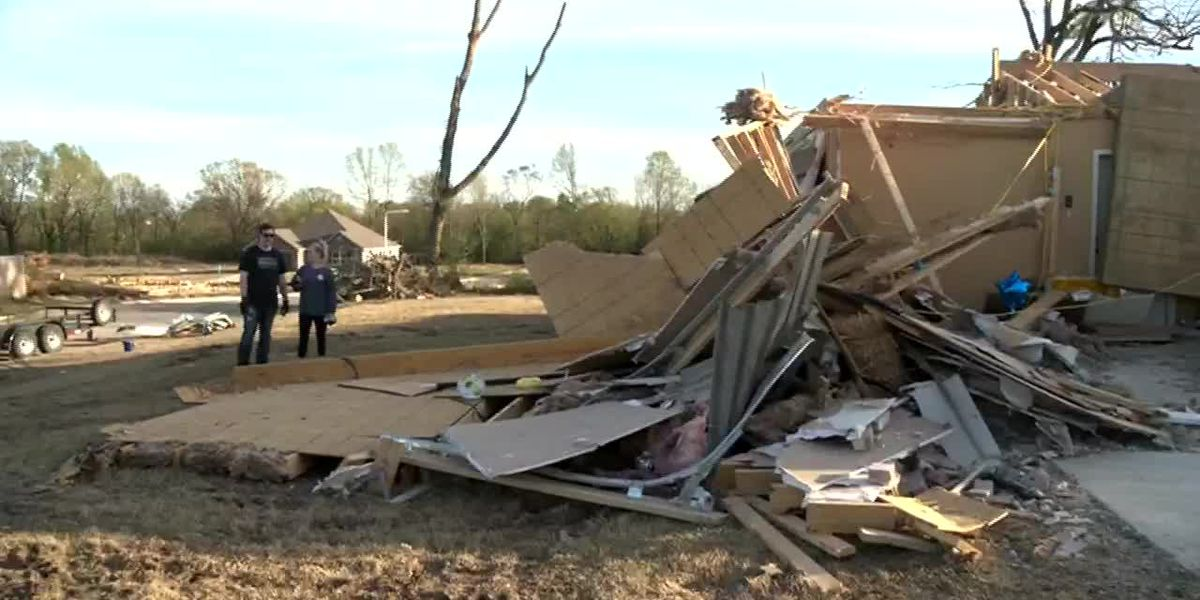 Tornado destroys home of doctor separated from family because of coronavirus