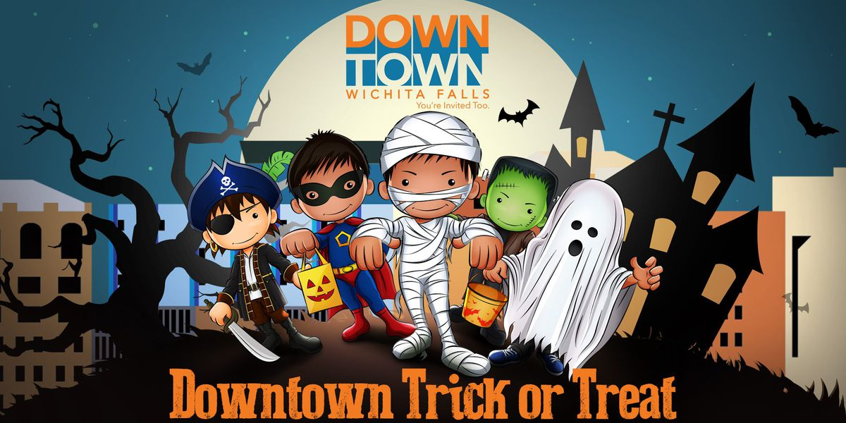 Downtown Development joins in on the trick-or-treat fun