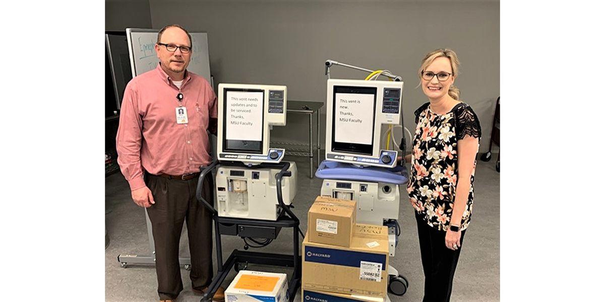 MSU Texas loans 2 ventilators, other supplies to United Regional