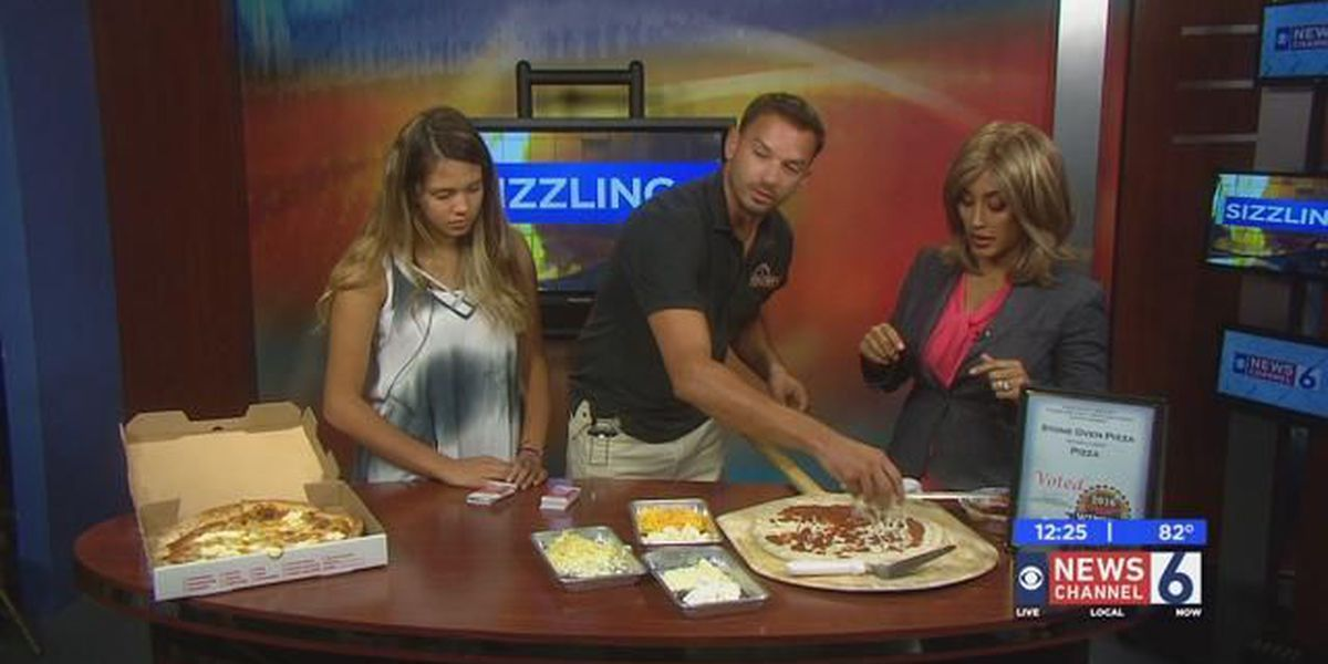 Sizzling With 6: Cheesy Time Pizza