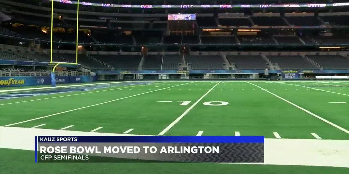 Rose Bowl CFP game moved to Arlington