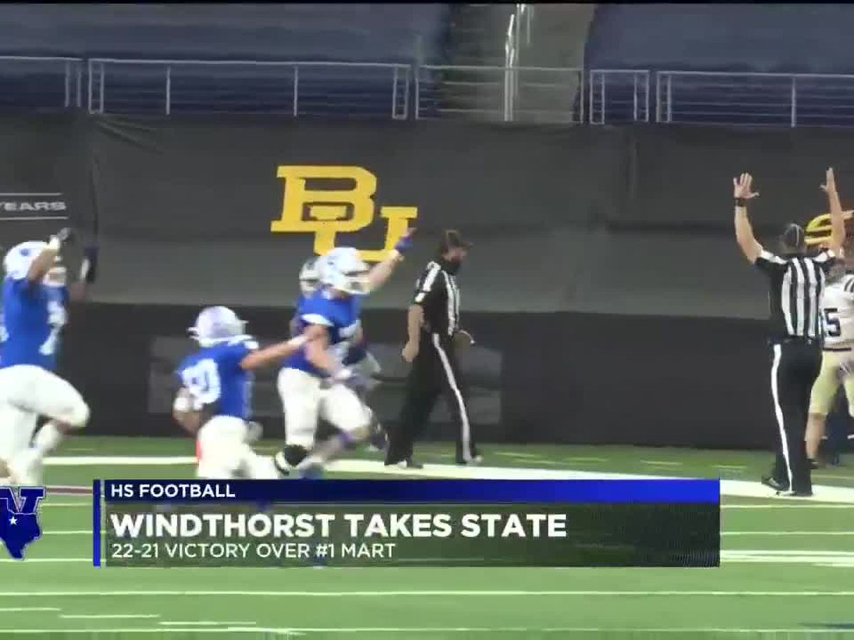 Windthorst wins 3rd state title in school history