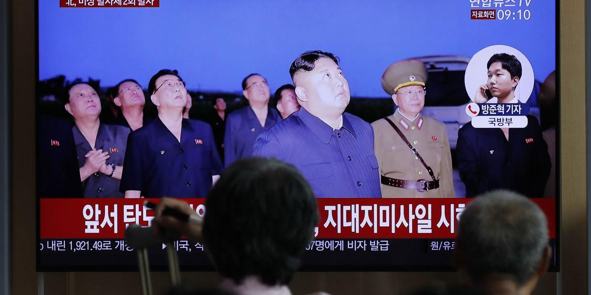 N. Korea tests new 'super-large' multiple rocket launcher