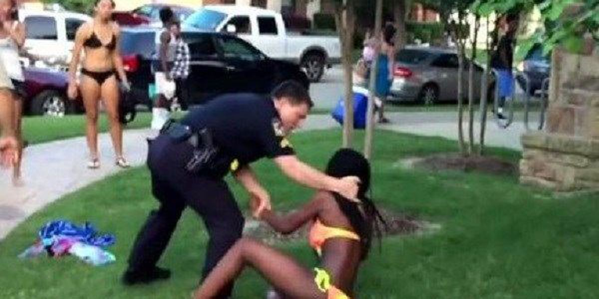 Texomans React To Viral Video Of Officer At McKinney Pool Party