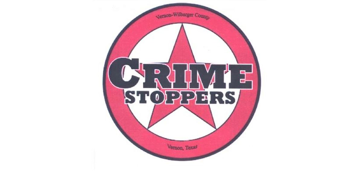 Vernon - Wilbarger County Crime Stoppers needs help solving two crimes
