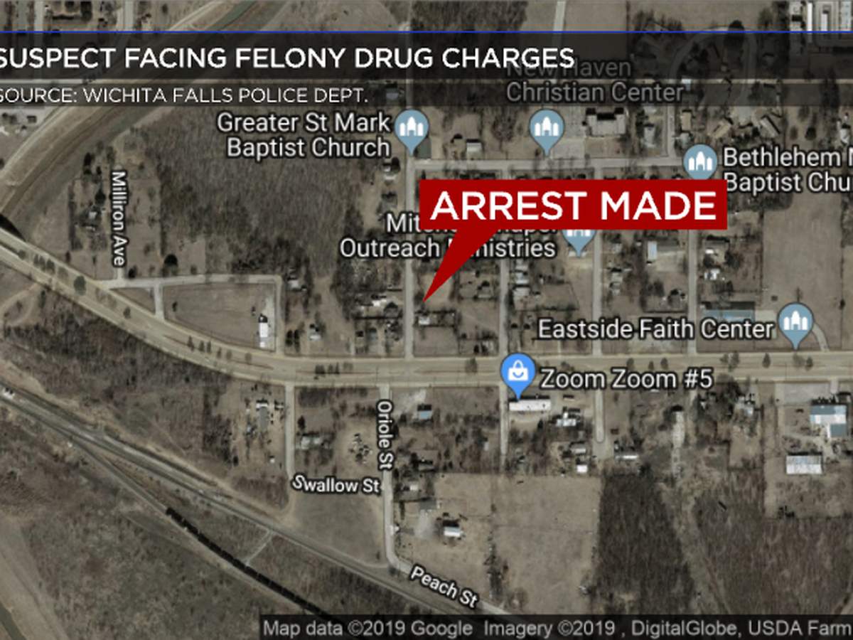 Wanted Man Arrest Ends with a Drug Bust