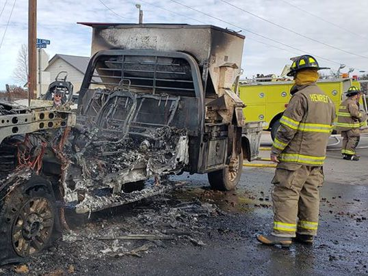Henrietta VFD: No one hurt in vehicle fire