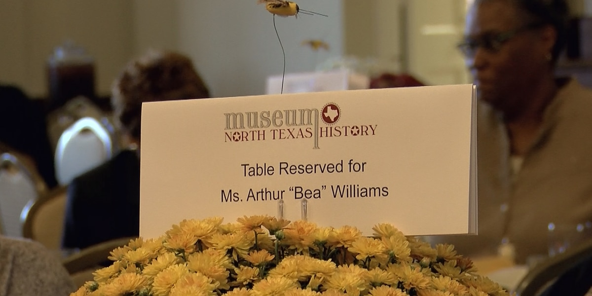 """5th Legend of North Texas honored, Arthur """"Bea"""" Williams"""
