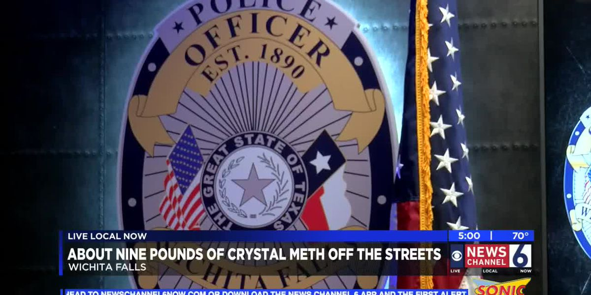 Anonymous tip leads to discovery of more than nine pounds of meth